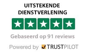 Trustpilot-beoordelingen